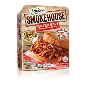 Farm Rich smokehouse BBQ beef