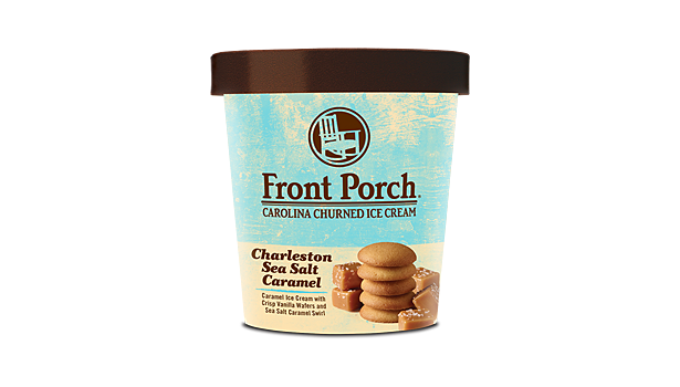 Front Porch Charleston Caramel ice cream