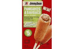Jimmy Dean sausage on a stick