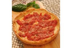 Kiki's gluten-free deep dish pizza