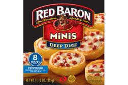 Red Baron mini pizza feature