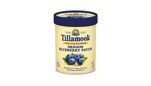Tillamook ice cream Blueberry