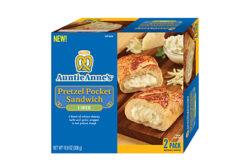 Auntie Anne's pretzel line