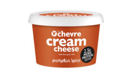 Belle Chevre cream cheese pumpkin spice