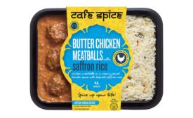 Cafe Spice Butter chicken meatballs