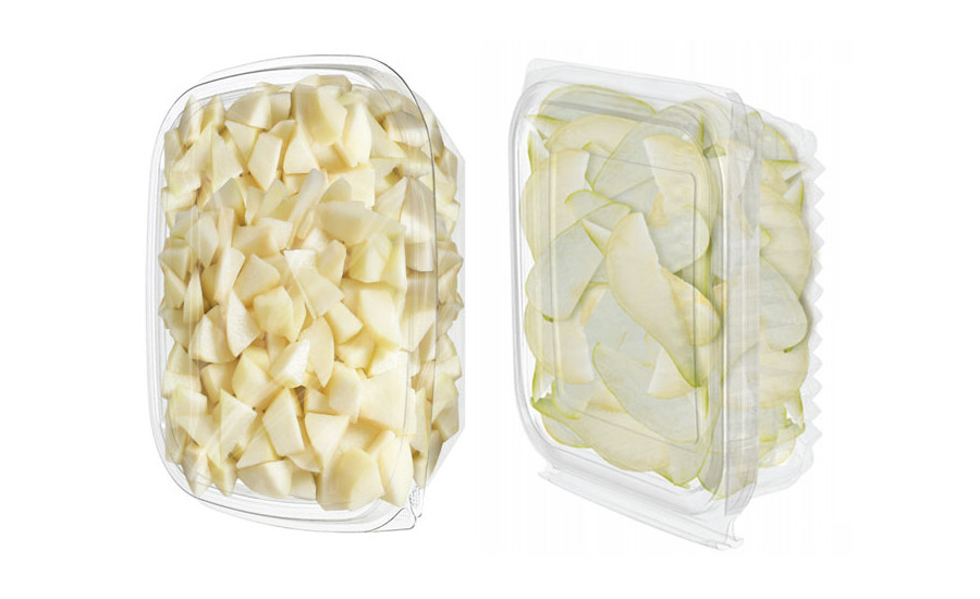 Fresh sliced, peeled, diced pears for foodservice applications