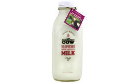 Farmer's Cow raspberry choc milk