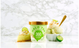 Halo Top key lime pie