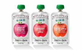 Once Upon a Farm HPP applesauce