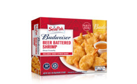 SeaPak Budweiser beer batter shrimp