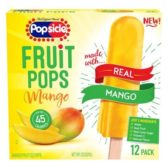 Unilever Popsicle Mango Fruit Pops