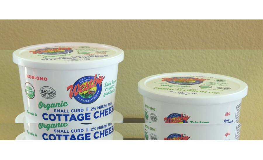 Westby Organic Brand Cottage Cheese, Sour Cream, French Onion Dip