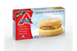 Atkins breakfast sandwiches