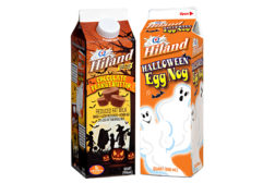 Hiland Dairy choc peanut butter egg nog
