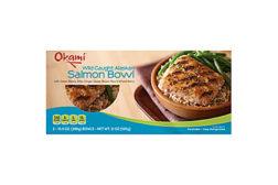 Okami salmon bowl