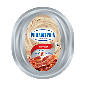 Philadelphia bacon cream cheese