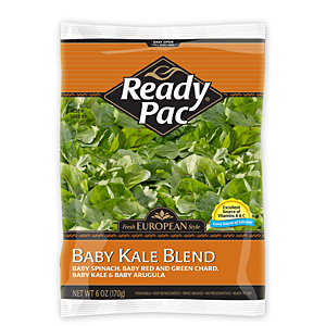 Ready Pac baby kale salad blend