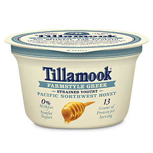 Tillamook Farmstyle Greek yogurt