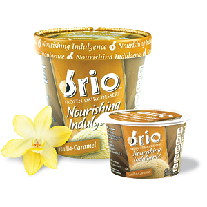 Brio Vanilla ice cream