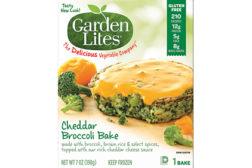 Garden Lites cheddar broc bakes