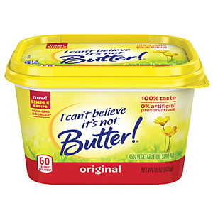 Reformulated I Can T Believe It S Not Butter 2014 12 03