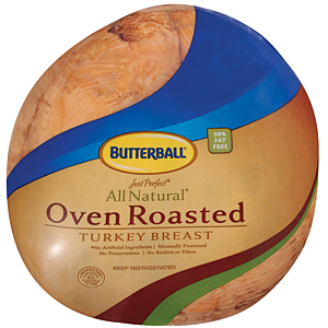 Butterball oven roasted turkey