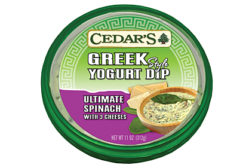Cedar's Greek yogurt dips