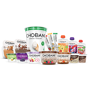 Chobani family of products