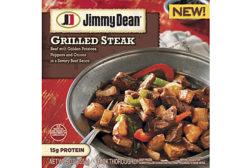 Jimmy Dean grilled steak bowl