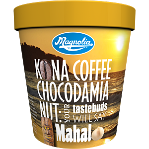 Magnolia kona coffee ice cream
