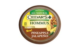 Cedar's pineapple jalapeno hommus