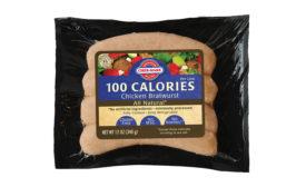 Cher-make 100 calorie bratwurst