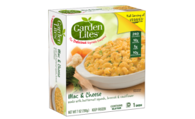 Garden Lites mac and cheese bakes