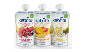 Kabrita goat milk yogurt