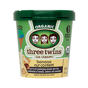Three Twins Banana Nut Confetti ice cream