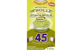 Wholly Guacamole mini cups