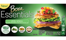 Boca Essentials burger