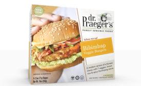 Dr Praegers veggie burgers