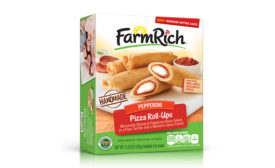 Farm Rich pizza roll-ups