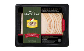 Foster Farms sliced turkey