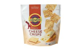 Jarlsberg cheese crackers