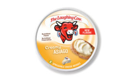 Laughing Cow creamy asiago cheese