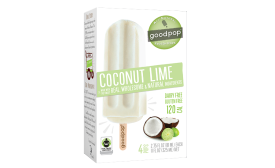 GoodPop coconut lime