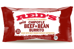 Red's beef burritos