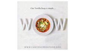 Canyon Creek refrigerated torilla soup