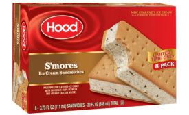Hood Smores ice cream sandwich
