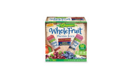J&J frozen whole fruit juice bars