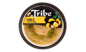 Tribe garlic hummus new and improved