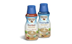Organic Valley half and half creamers