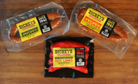 Dickey's sausages